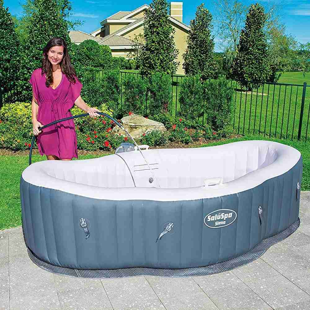 Coleman 2 Person B. Best Inflatable Hot Tub Reviews
